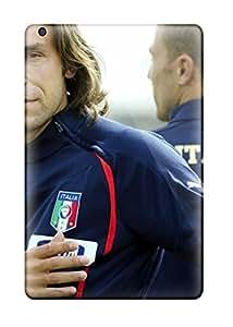 Awesome Defender Tpu Hard Case Cover For Ipad Mini 2- Andrea Pirlo Italia 1038827J35944857