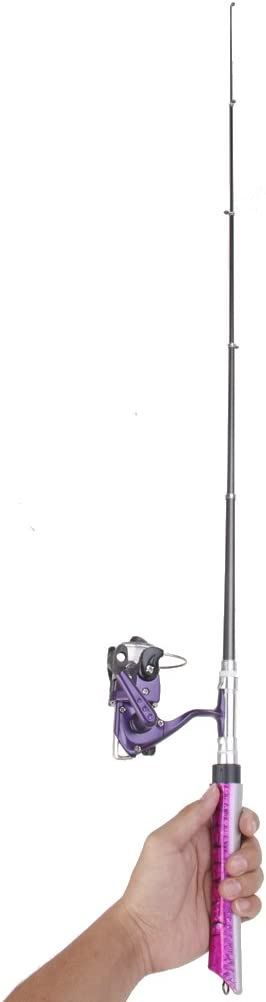 Generic Set – Portátil cañas de pescar con carrete de pesca ...