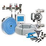 40sqm Dual-Zone Wet/Water Underfloor Heating Kit, 2 zone, Heatmiser, Grundfoss & Rifeng products, 50 year Guarantee