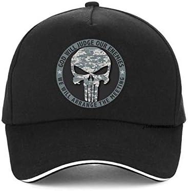 WHLDKCY Baseball cap Punisher Hat Unisex Snapback Hats