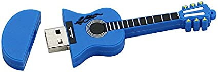 4GB Guitarra Azul USB Flash Drive pendrive Pen Drive USB 2.0 Flash Drive Memory Stick U Disco: Amazon.es: Electrónica