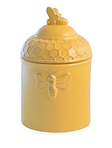 (Boston International Ceramic Goody Jar, Honeycomb )