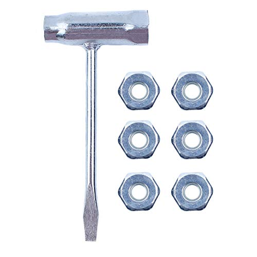 Haishine Chainsaw Combo T Wrench Spanner Guide Bar Nuts Fit Stihl 024 026 MS240 MS260 MS192T MS200T 028 031 032 Gas Chain Saw ()