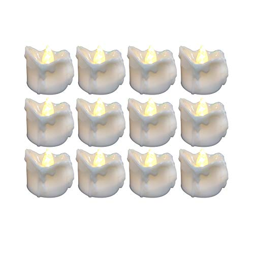 Led Light Votive Candles With Timer in US - 7