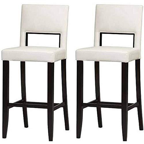 Cool Linon Vega Bar Stool White Set Of 2 Cleaning Towelettes Evergreenethics Interior Chair Design Evergreenethicsorg