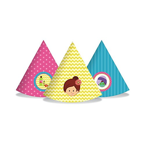 Spa Party. Spa Party Birthday Decorations for Girls. Spa Day. Includes Party Hats, Centerpieces, Bunting Banner, Danglers and Cupcake Toppers. by W&N Distribution (Image #5)