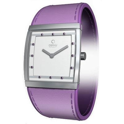 Obaku Harmony Womens Watch - Purple Band / White Face - V102LCCRQS-028