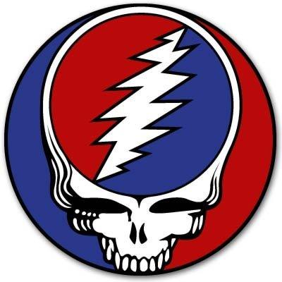 "Grateful Dead rock band Vynil Car Sticker Decal - 2"""