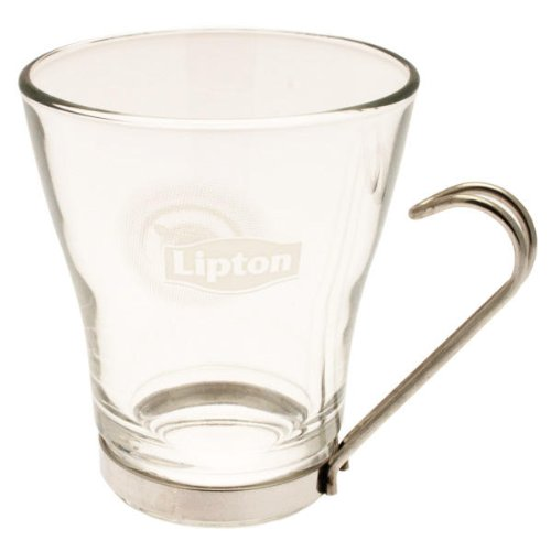 Teetassen Glas lipton glass tea cup 180 ml amazon co uk kitchen home