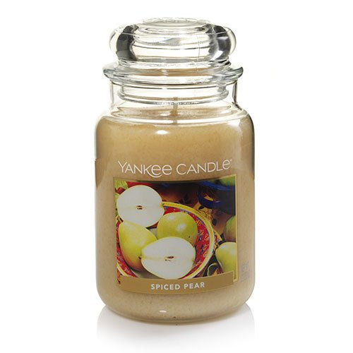 Candle Spiced Pear (Yankee Candle Spiced Pear Large Jar Candle)