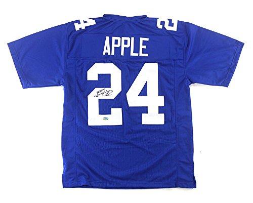 Eli Apple Signed Jersey - Blue Custom - Autographed NFL Jerseys