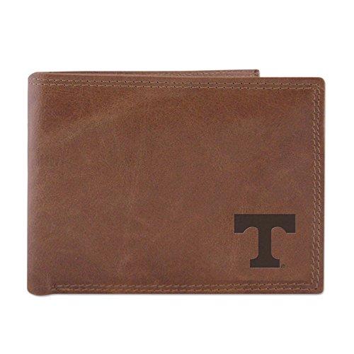 ZEP-PRO Tennessee Volunteers embossed Leather Bi-fold Wallet