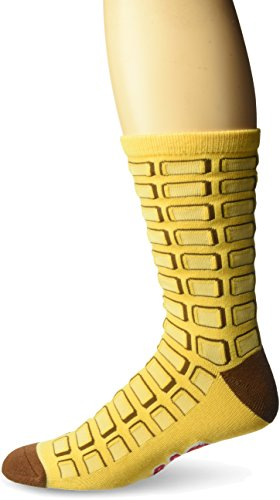Cool Socks Men's Eggo (Knit), Multi, Shoe Size:8-12