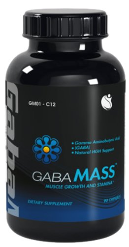 ГАМК-Mass Gamma аминомасляной кислоты GABA 900 мг 90 капсул 1 флакон