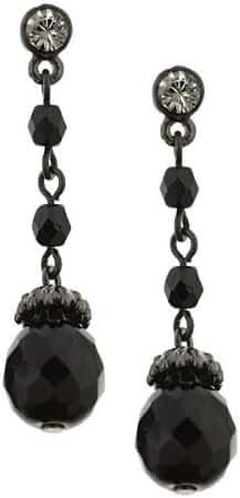 1928 Jewelry Vintage Style Petite Drop Earrings