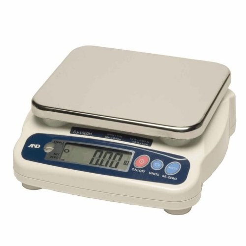 Image of A&D Weighing SJ-5001HS Digital Portion Scale, 5000g x 1g Digital Scales