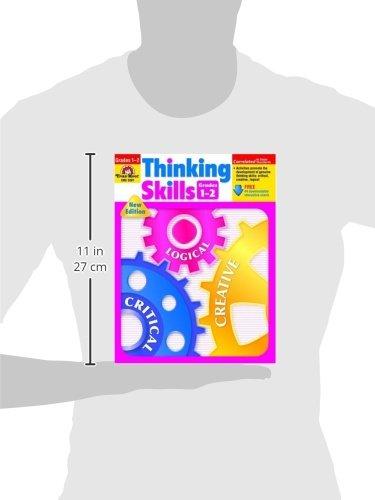Amazon.com: Thinking Skills, Grades 1-2 (9781557998651): Evan Moor ...