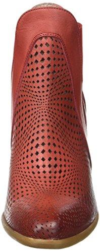 Donna Piu 52821 Palma, Stivaletti Donna Rouge (Vacchetta Rosso)