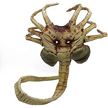 Amazon.com: Yacn Alien Facehugger Mask Replica Vs Alien