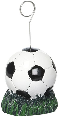 Beistle 50844 Soccer Ball Photo/Balloon Holder, 6 Ounces (Soccer Photos Ball)