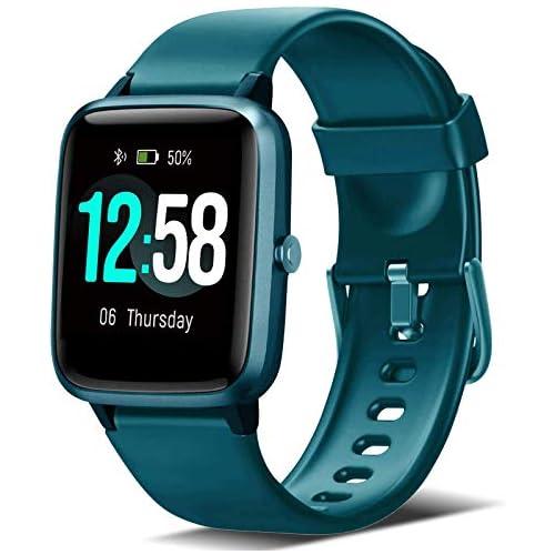 chollos oferta descuentos barato Blackview Smartwatch Reloj Inteligente con Pulsómetro Mujer Hombre niños Monitor de Sueño 45 Días Batería Ultra Larga Vida Reloj de Fitness para iOS y Android Xiaomi Huawei Samsung