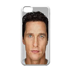 iPhone 5c Cell Phone Case White hd33 interstellar celebrity matthew mcconaughey OJ668145