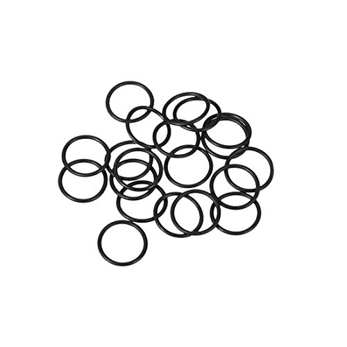 Cross Section Diameter - uxcell O-Rings Nitrile Rubber, 8mm Inner Diameter, 10mm OD, 1mm Width, Round Seal Gasket(Pack of 20)