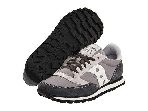 (サッカニー) SAUCONY メンズスニーカーカジュアルシューズ靴 Jazz Low Pro [並行輸入品] B06XXXL4D2 26.0 cm D - M グレー/ホワイト