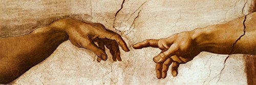 The Creation of Adam, c.1510 detail Poster by Michelangelo Buonarroti