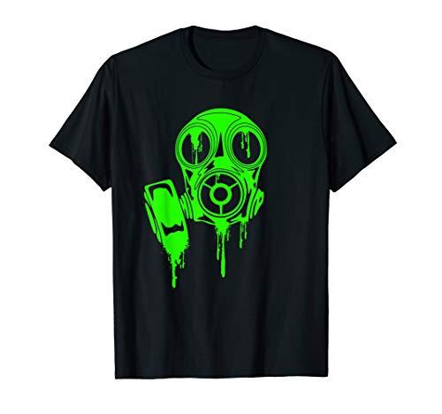 Poison Green Gas Mask Shirt / For Man Woman Kids Nerds Geeks