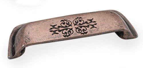 Laurey 53307 3-Inch Cimarron Cup Pull - Antique Copper Laurey Antique Pull