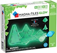 Magna Tiles Glow in The Dark Set, The Original Magnetic Building Tiles for Creative Open-Ended Play, Education