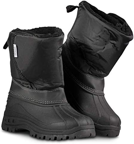 ZOOGS Kids Snow Boots for Girls and