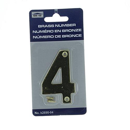 3 inch door numbers - 1