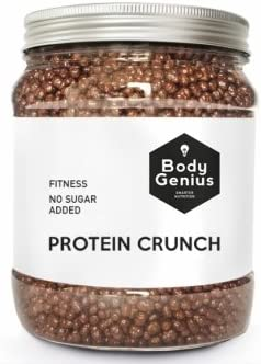 BODY GENIUS Protein Crunch (Chocoavellana). 500g. Cereales ...
