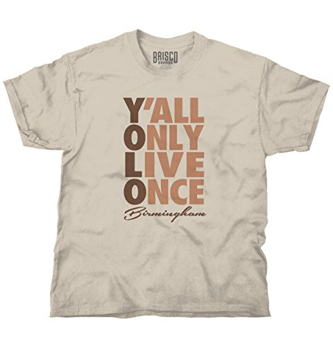 Yolo You Only Live Once Birmingham, AL Funny Picture Shirts T Shirt - 2000 Birmingham Fashion