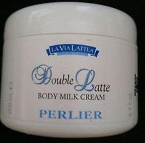 Perlier Double Latte Body Milk Cream For Senitive Skin ~ 6.7oz Double Latte Body Cream