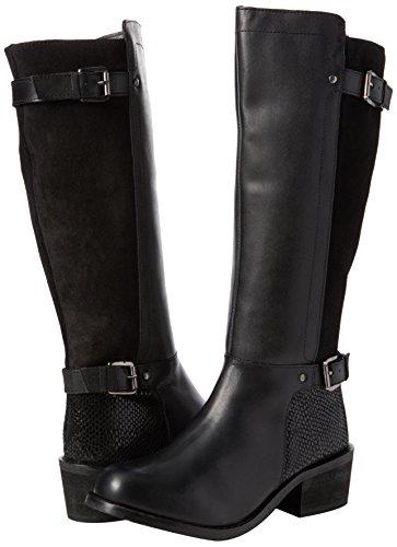 Leather Browns Black A Damen Reitstiefel Joe Schwarz Boots Ultimate PwxAWUt