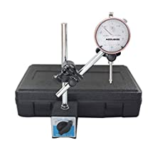 Accusize - 0 - 1'' x 0.001'' Dial Indicator with 60 Kgs Magnetic Base Set, #EG00-1038