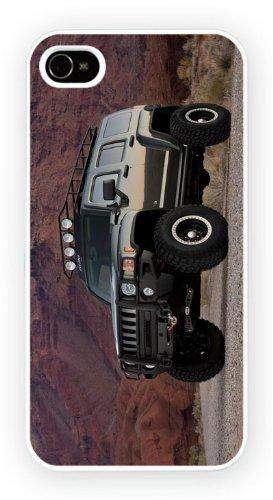 Hummer H3 Green, iPhone 5 5S, Etui de téléphone mobile - encre brillant impression
