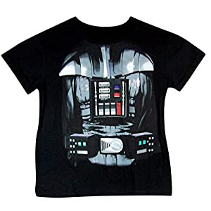 Star Wars Youth Darth Vader Armor Headless Cape Shirt