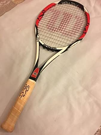 2007 US Open -- Roger Federer Match Used, Signed Racquet (Federer COA, Photostyle Match) - Autographed Tennis Racquets at Amazons Sports Collectibles Store