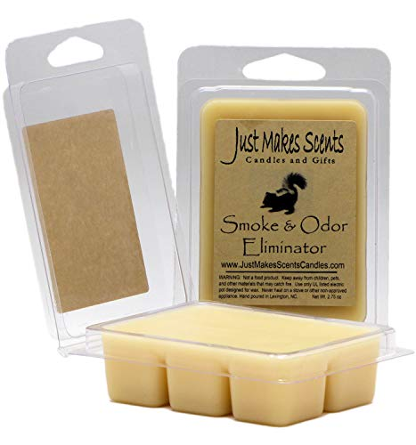 Just Makes Scents 2 Pack - Smoke & Odor Eliminator Scented Wax Melts