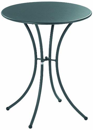 Tavolo Tondo Ferro.Emu Pigalle 905 Tavolo Tondo O 60cm In Acciaio Colore Ferro Antico Cod 22