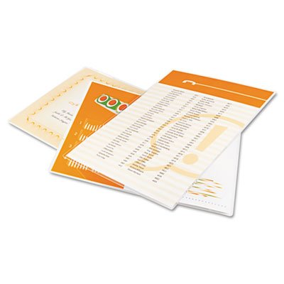 Trulam 7 Mil 2 5 8 X 3 7 8 Inches Military Card Laminating