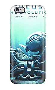 Protective Tpu Case With Fashion Design For Iphone 6 Plus (prometheus To Alien The Evolution)
