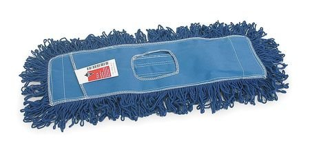 Tough Guy 1TZC5 Dust Mop, Sz 24 In, Blue by Tough Guy