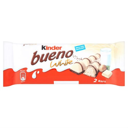 Kinder Bueno WHITE, CASE, (39gx30)-WHITE by Kinder