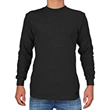 Knocker Men's Heavy Weight Waffle Pattern Thermal Shirt