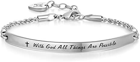 Annamate Engraved Possible Inspirational Religious product image